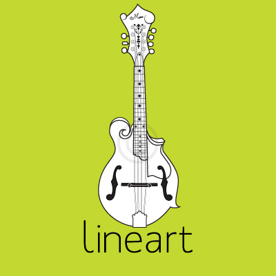 Photo to vector line art samples