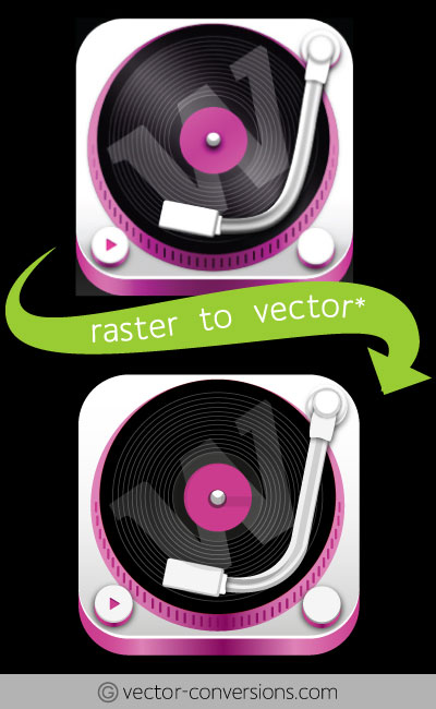 Exact copy raster to vector