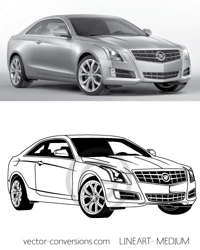 Medium level of detail vectorization