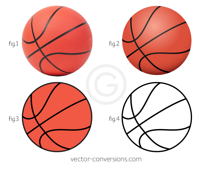 Vector conversion to vector illustration with raster effects