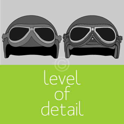 Vectorization Options Level of Detail