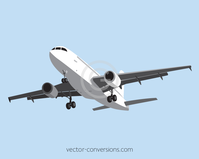 vector conversion of a plane