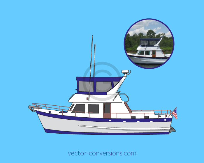 Full color to limited color vector conversion for specialty printing