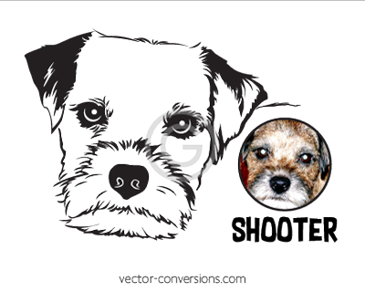 Photo Vector Conversion to Line art for engraving or etching