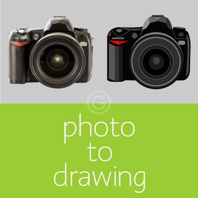Photo to Illustration Vectorization
