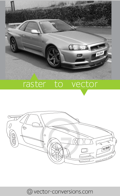 Photo Line Art Converter : Vector conversion samples from photo to line art